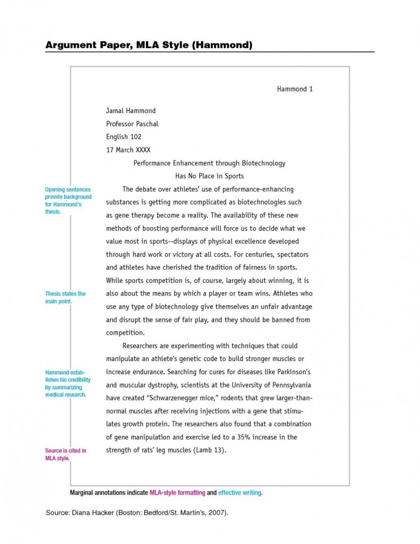 015 Mla Format Essay Writing For Research Paper Example Oracleboss Unique Sample Title Page Apa Outline