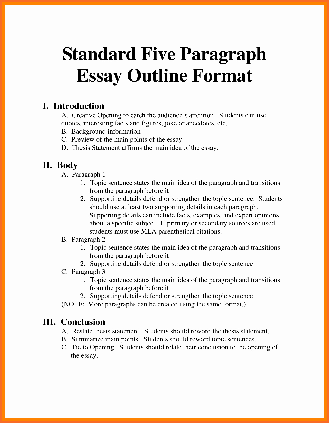 015 Mla Format For Research Papers Lovely Sample Outline Paper