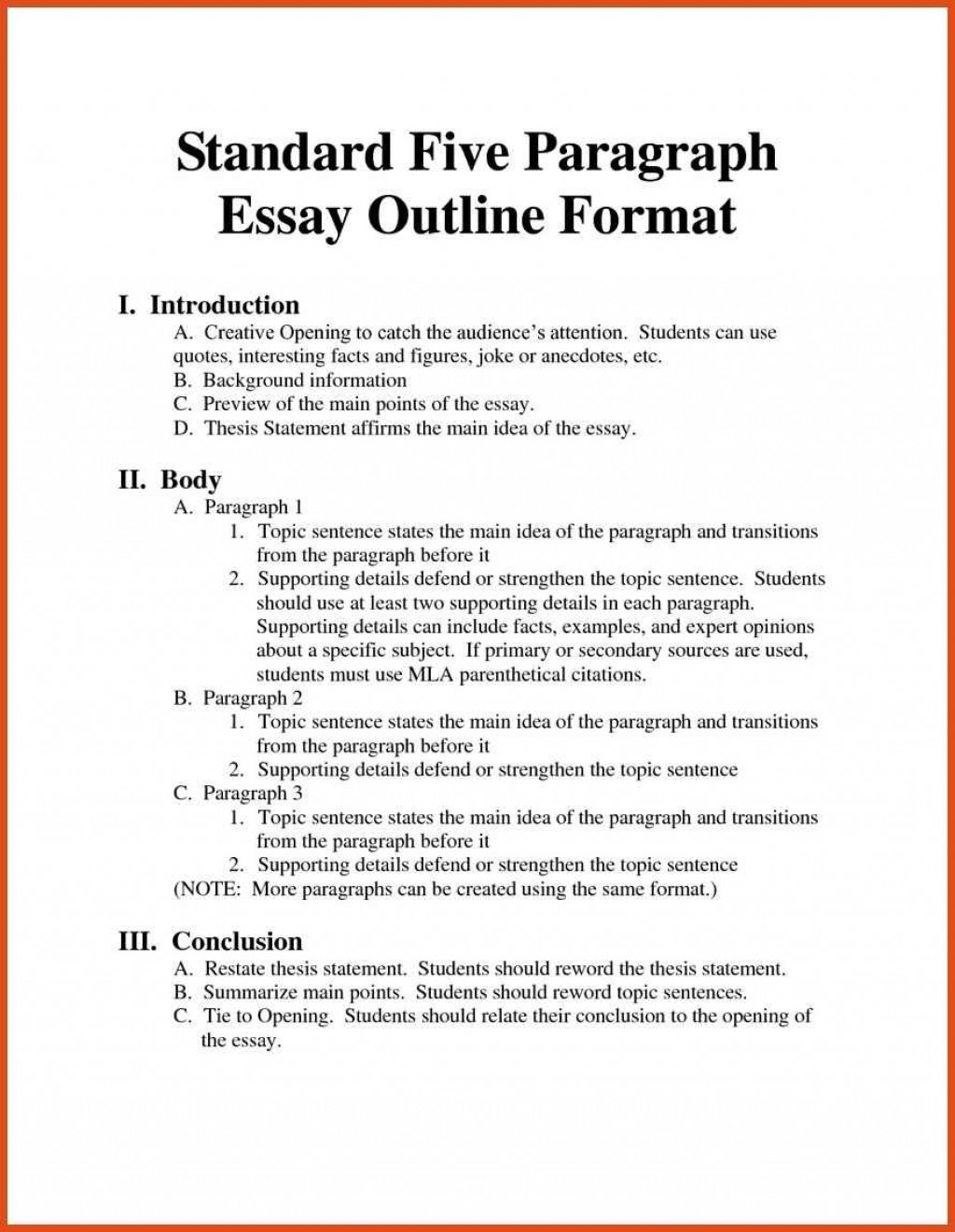 015 Outline Format Mla Research Paper Template Yolar Cinetonic Fantastic Apa Sample Pdf Large