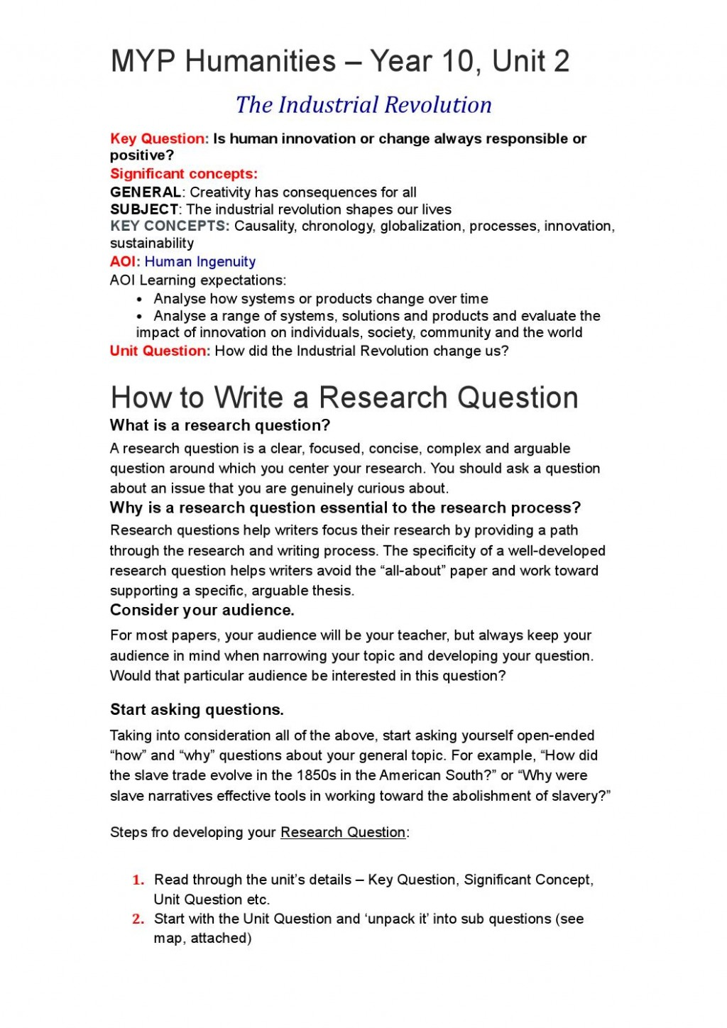 015 Page 1 Questions For Research Formidable Paper Defense Inquiry Large