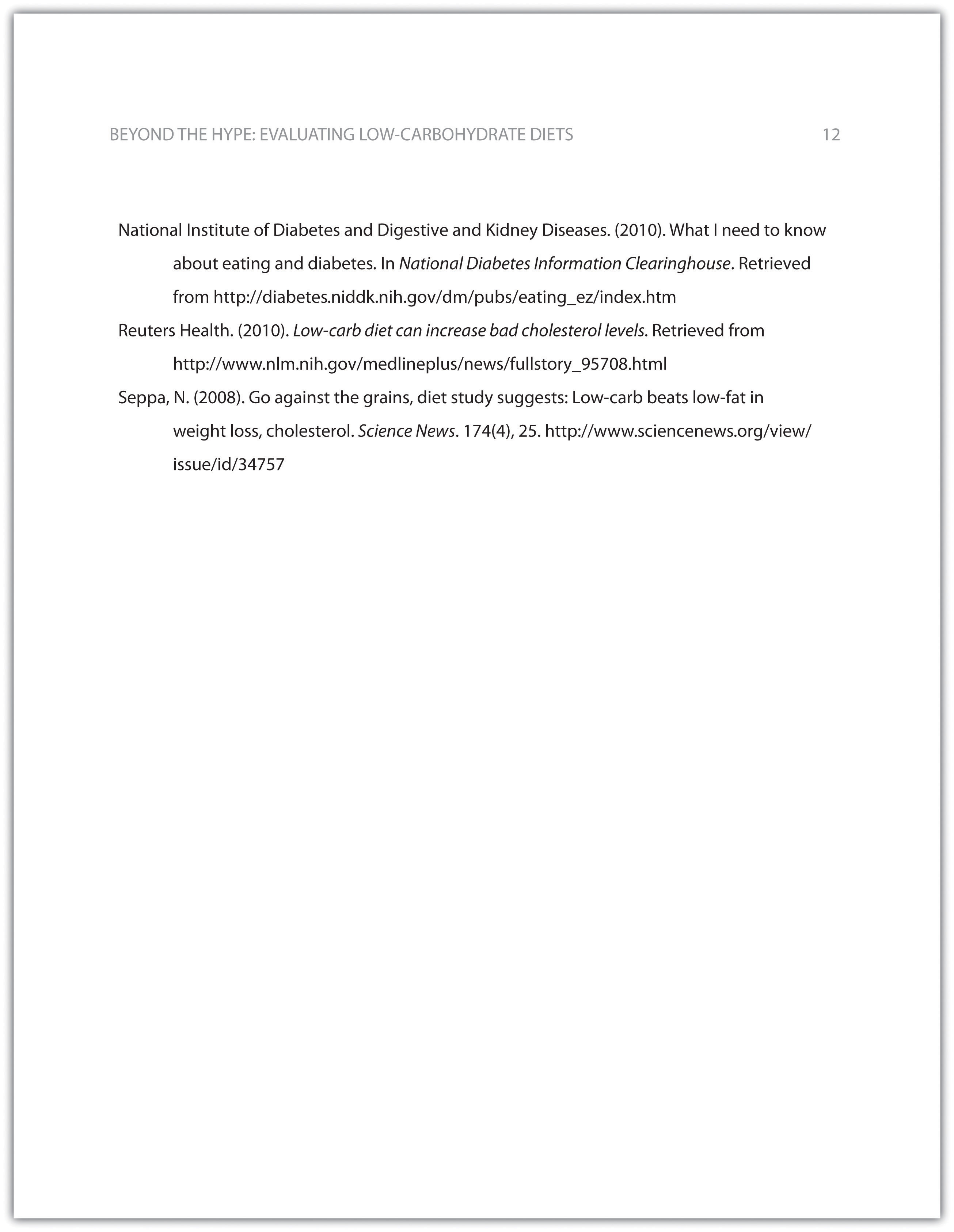 015 Research Paper Apa Format Reference Unique Page List Full