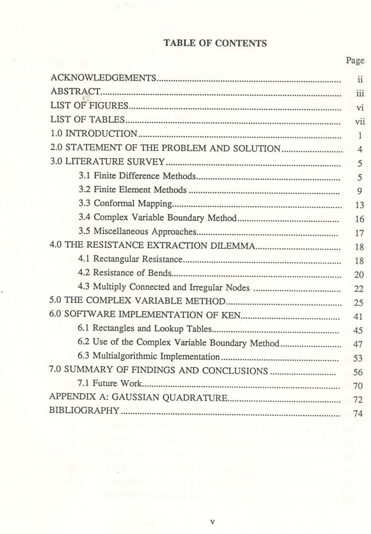 015 Research Paper How To Make Table Of Contents In Exceptional A 728