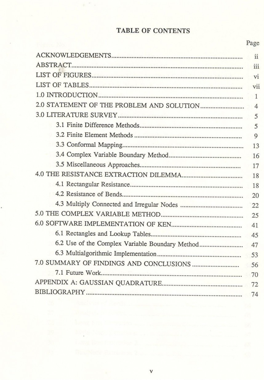 015 Research Paper How To Make Table Of Contents In Exceptional A
