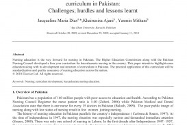 015 Research Paper How To Publish In Shocking Pakistan Medical