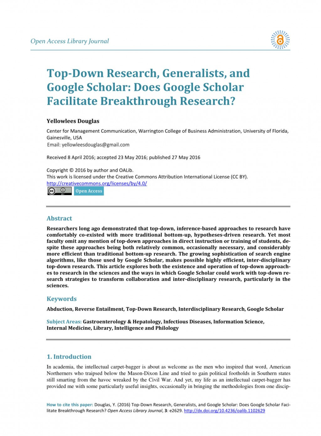 015 Research Paper How To Publish On Google Scholar Dreaded Large