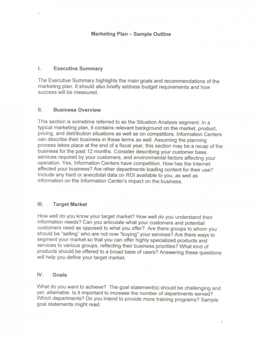 015 Research Paper Marketing Plan Executive Summary 384040 Of Fantastic A Example