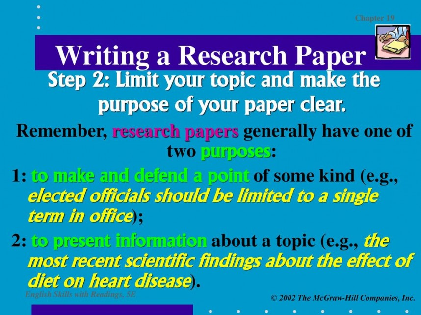 015 Research Paper Purpose Of Breathtaking To Students Slideshare Pdf