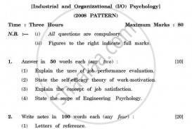015 Research Papers For Psychology Paper University Of Pune Bachelor General Industrial Organizational Tyba 3rd Year 2011 2423148fb186f44d8a12cf9 Fascinating Topics Educational Types