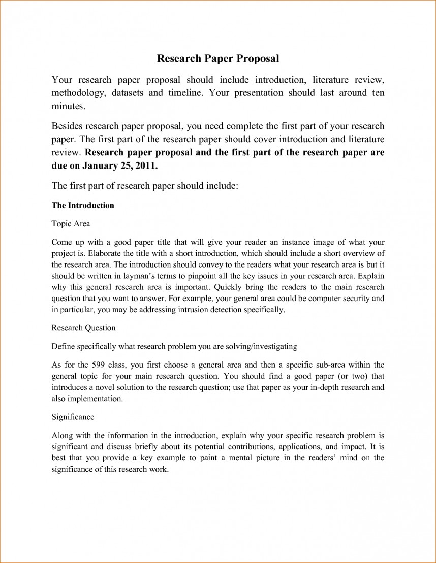 015 Sample Research Paper Proposal Template Awesome Pdf Ideas Format