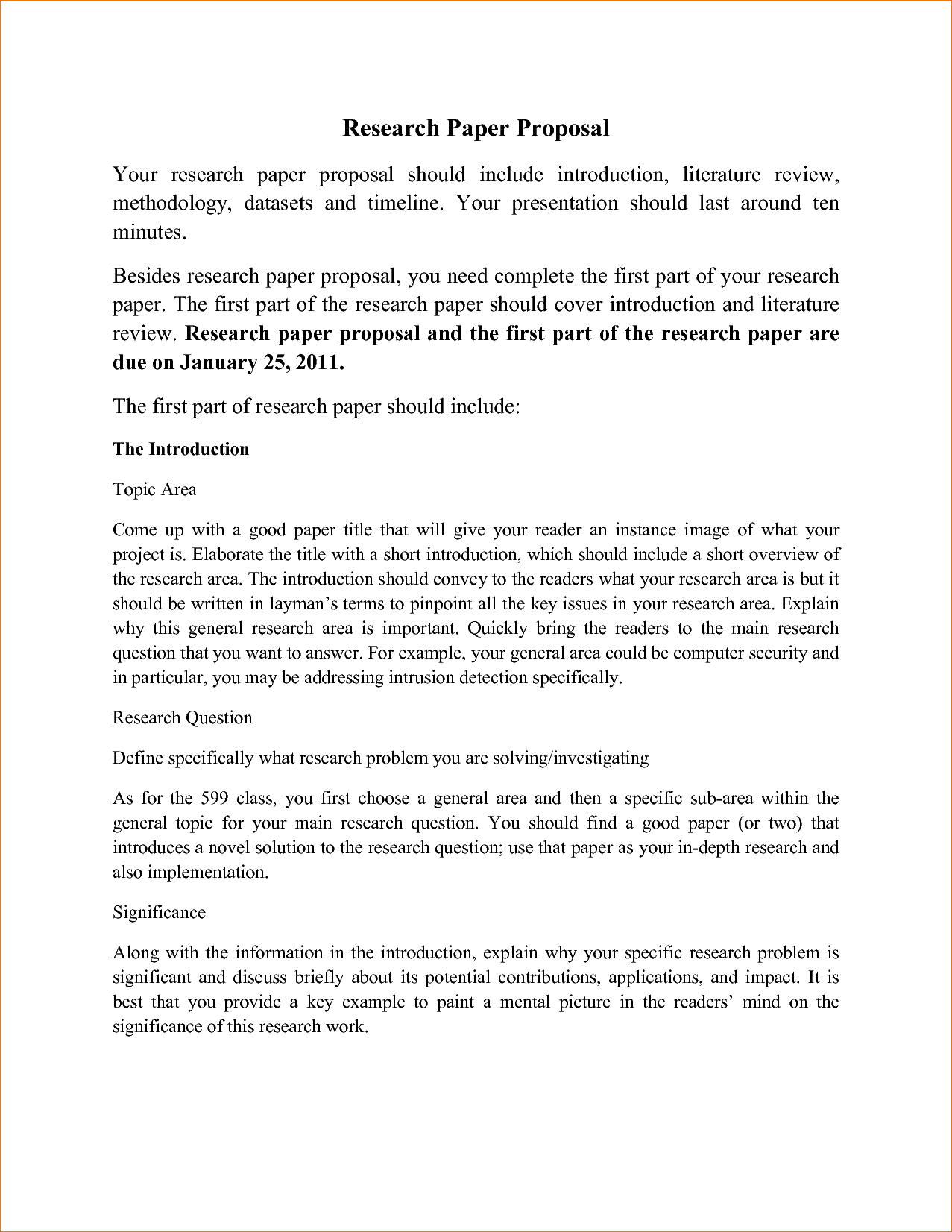 015 Sample Research Paper Proposal Template Awesome Topic Format Full