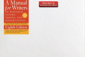 015 Source Research Paper Manual For Writers Of Papers Theses And Dissertations Fearsome A Ed 8