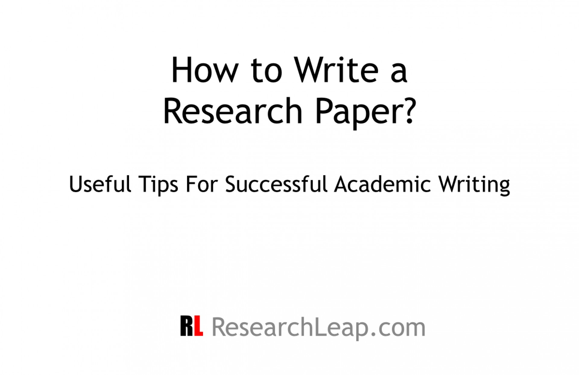 015 Tips For Writing Researchs Ppt Entering Unforgettable Research Papers Apa Paper 1920