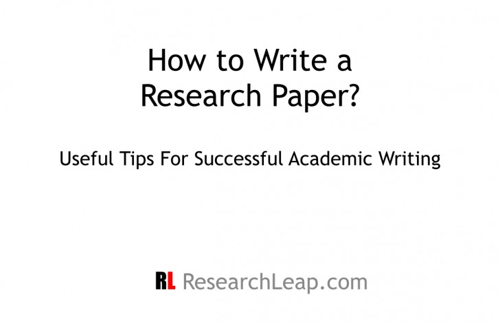 015 Tips For Writing Researchs Ppt Entering Unforgettable Research Papers A Paper Pdf In College 728