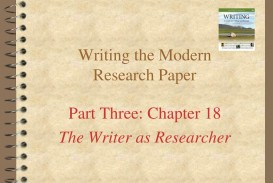 015 Writing The Modern Research Paper L How To Make Staggering Ppt Prepare A Powerpoint Presentation