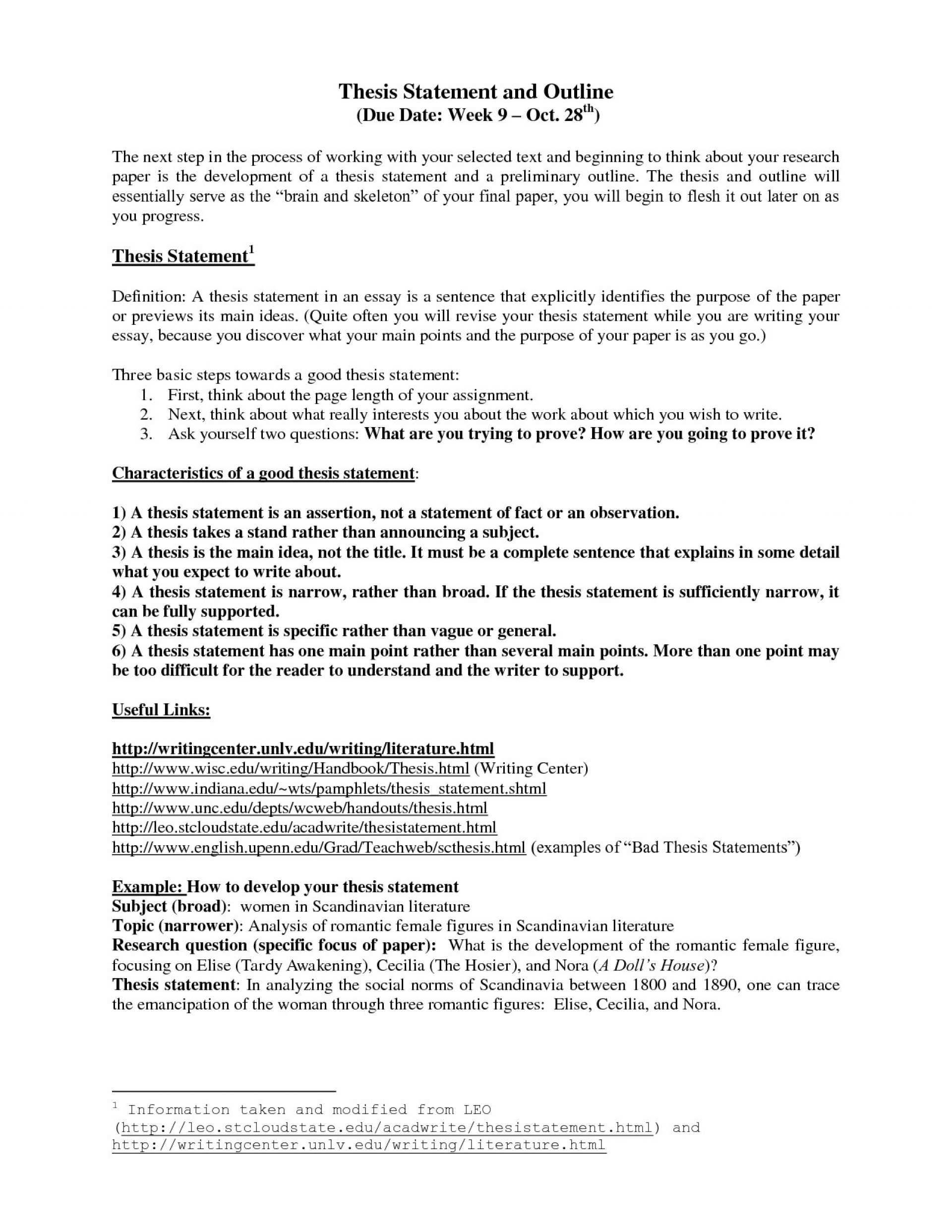 016 7th Grade Argumentative Essay Example Inspirational Thesis Statements For Essays Valid Statement Examples Research Paper Of An Outline Striking A Literary 1920