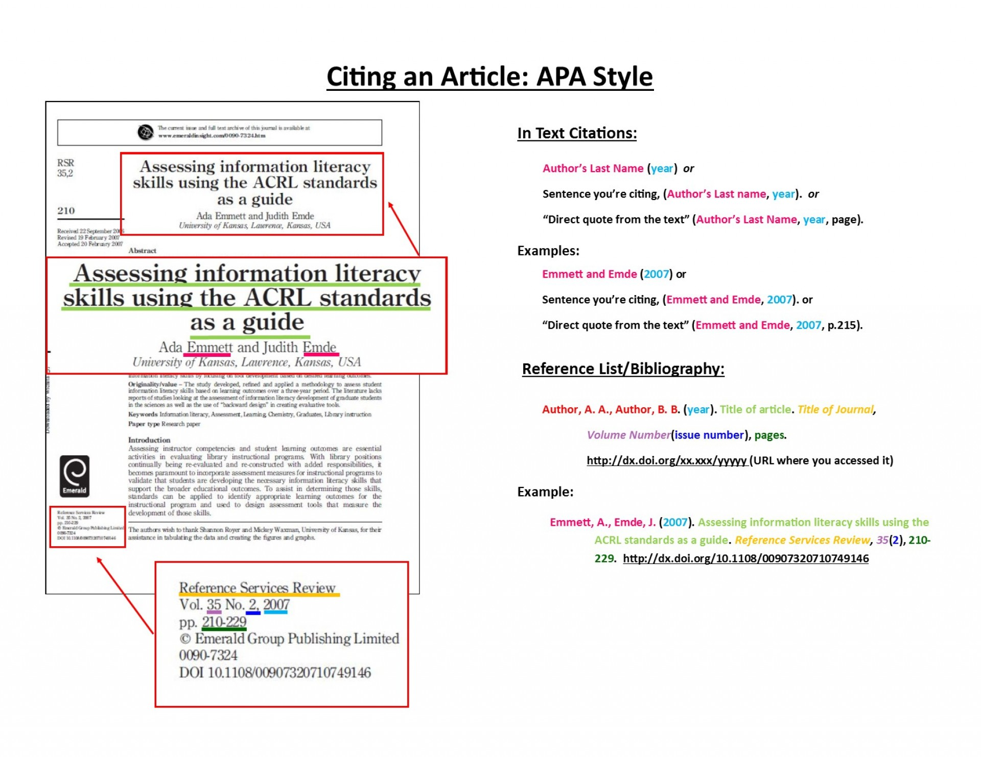 016 Apa Journal Citation Research Paper How To Reference Articles Sensational Cite Web A Article Title In Text Online Format 1920