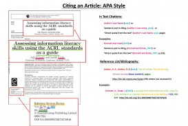 016 Apa Journal Citation Research Paper How To Reference Articles Sensational Cite Web A Article Title In Text Online Format