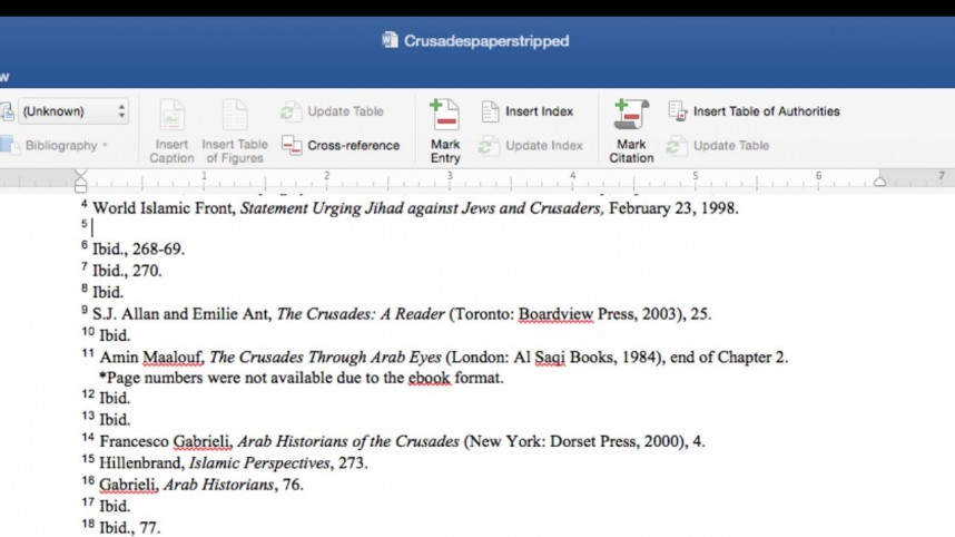 016 Chicago Style In Text Citation Sample Paper Research Wondrous 868