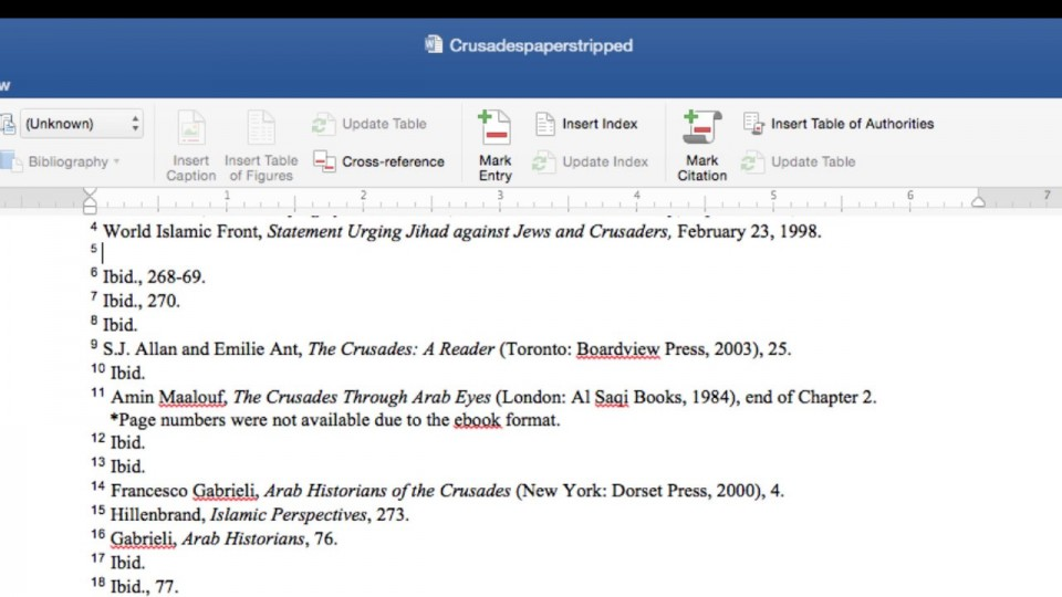 016 Chicago Style In Text Citation Sample Paper Research Wondrous 960