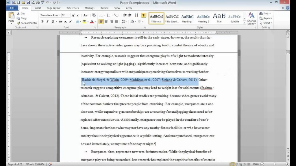 016 Citing Sources In Research Paper Apa Astounding Paragraph Large