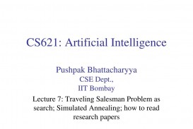 016 Cs621 Artificial Intelligence L Research Paper How To Read Papers Fascinating Ppt