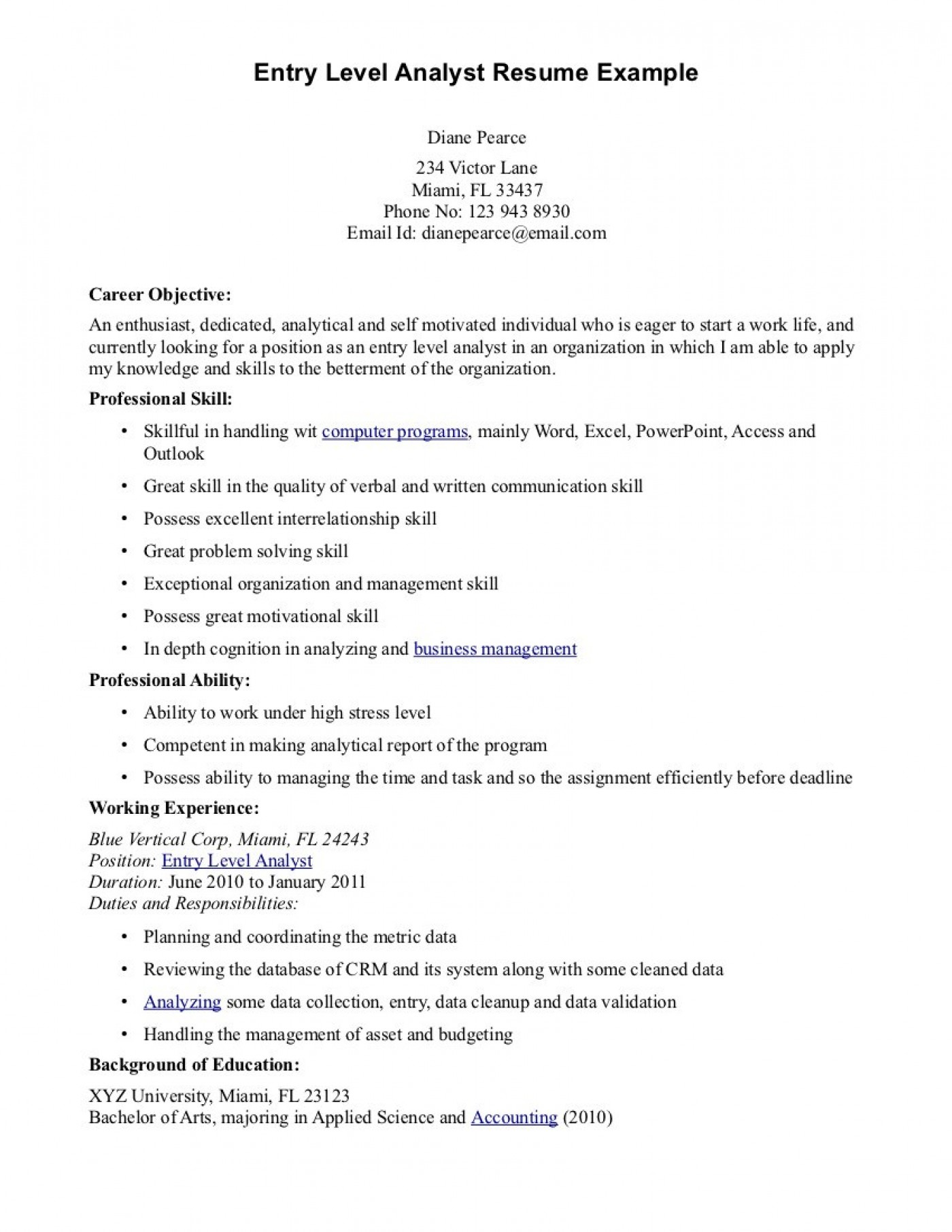 016 Cyber Security Research Paper Example Entry Level Resume Objective Examples Dreaded 1400