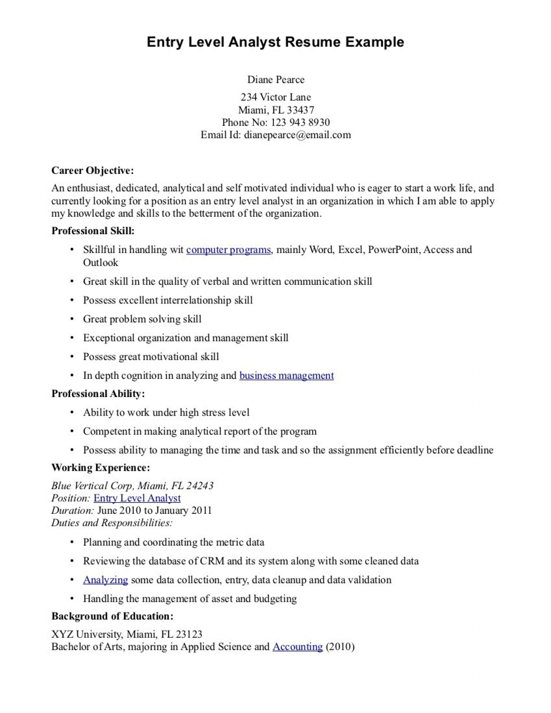 016 Cyber Security Research Paper Example Entry Level Resume Objective Examples Dreaded 1920