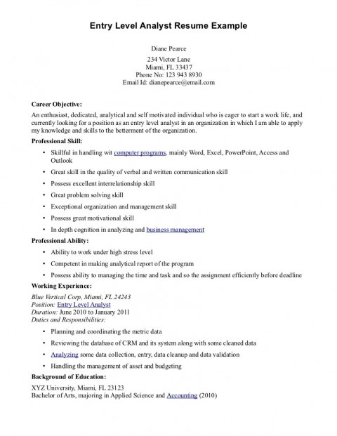 016 Cyber Security Research Paper Example Entry Level Resume Objective Examples Dreaded 480
