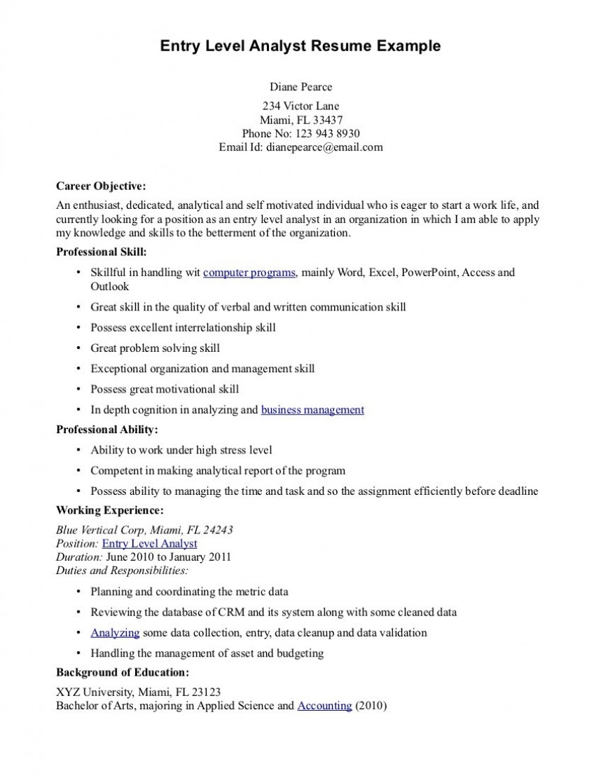 016 Cyber Security Research Paper Example Entry Level Resume Objective Examples Dreaded