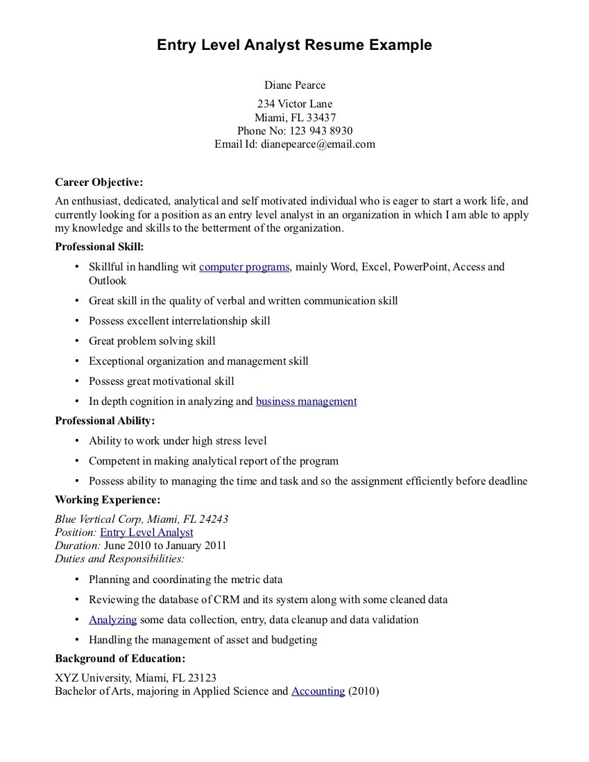 016 Cyber Security Research Paper Example Entry Level Resume Objective Examples Dreaded Full