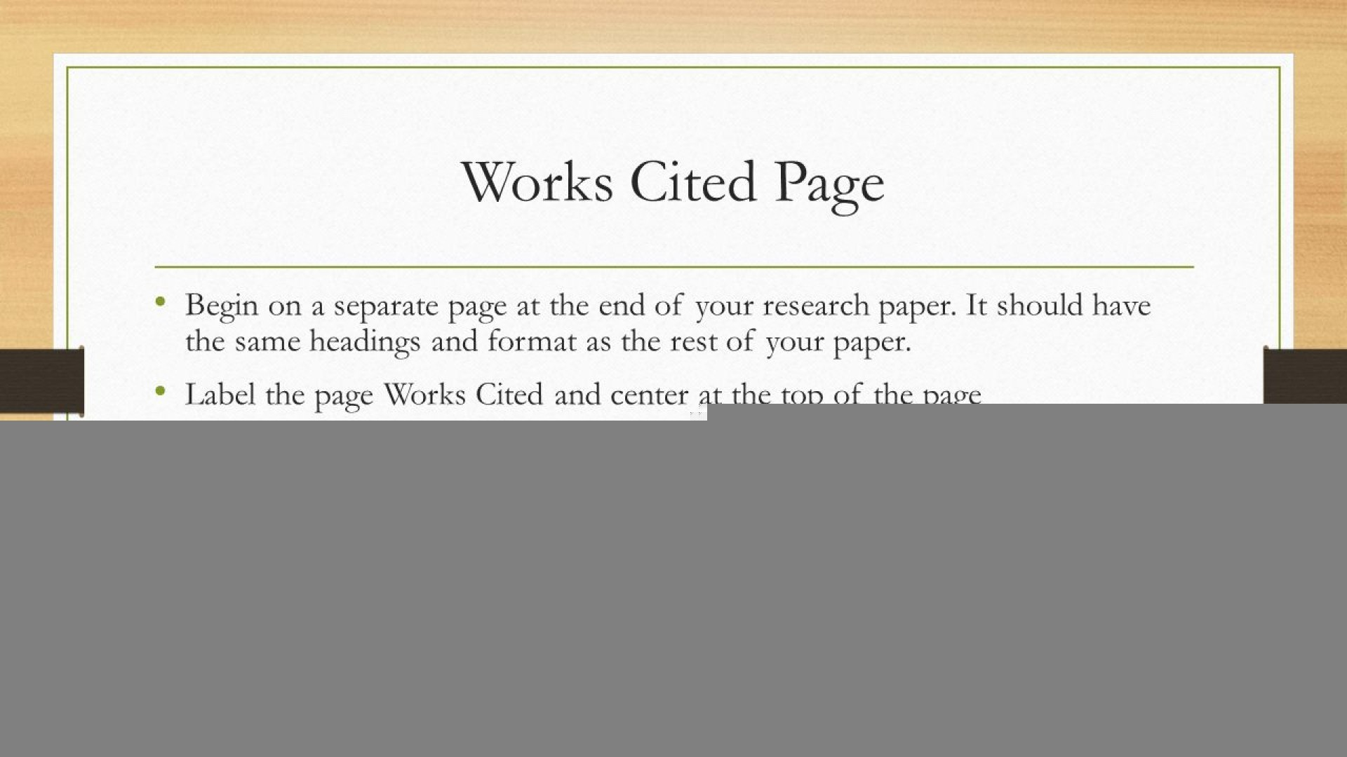 016 Do Works Cited Page Research Paper Slide 16 Unique Examples Mla Format 1920