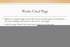 016 Do Works Cited Page Research Paper Slide 16 Unique Examples Mla Format