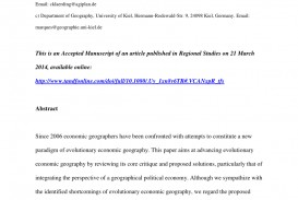016 Economic Geography Research Paper Topics Wondrous
