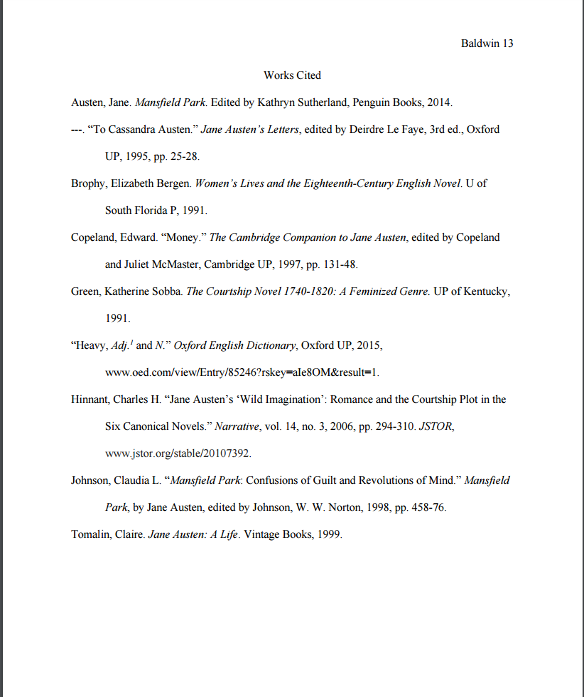 016 How Do You Cite Research Paper In Mla Format Workscited Imposing A Website To Things Full