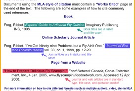 016 How To Do Mla Works Cited For Research Paper Workscited 10272016 V3 Unusual A Page