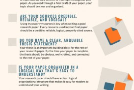 016 How To Write Research Paper Checklist Art Of Writing And Top A Thesis