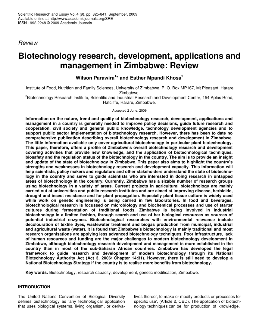 016 Largepreview Biotechnology Researchs Pdf Free Download Impressive Research Papers Full