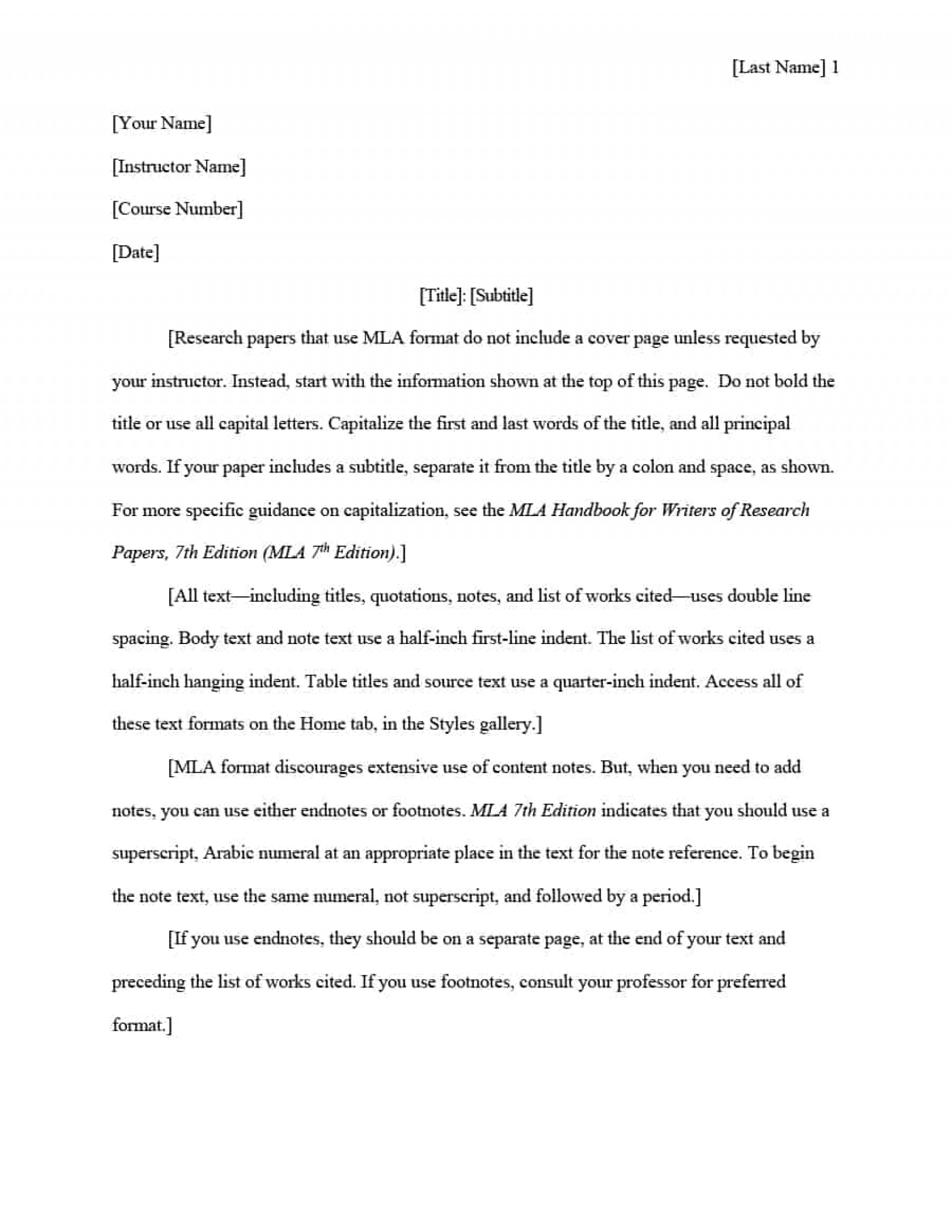 016 Mla Format Research Paper In Text Citations Template Wonderful 1920