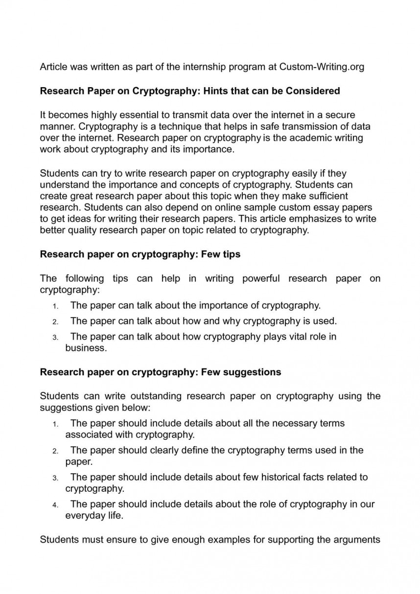 016 P1 Research Paper Define Awful Topics