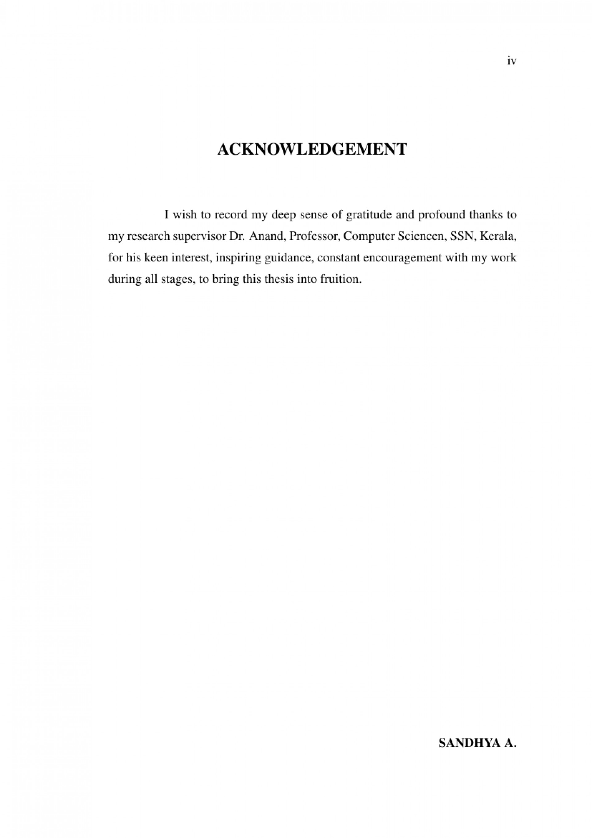 016 Research Paper Acknowledgement Example For Article Rare Pdf 1920