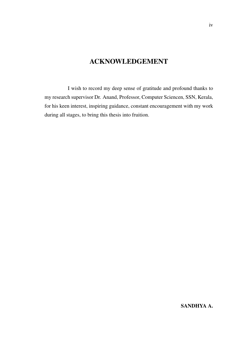 016 Research Paper Acknowledgement Example For Article Rare Pdf Full