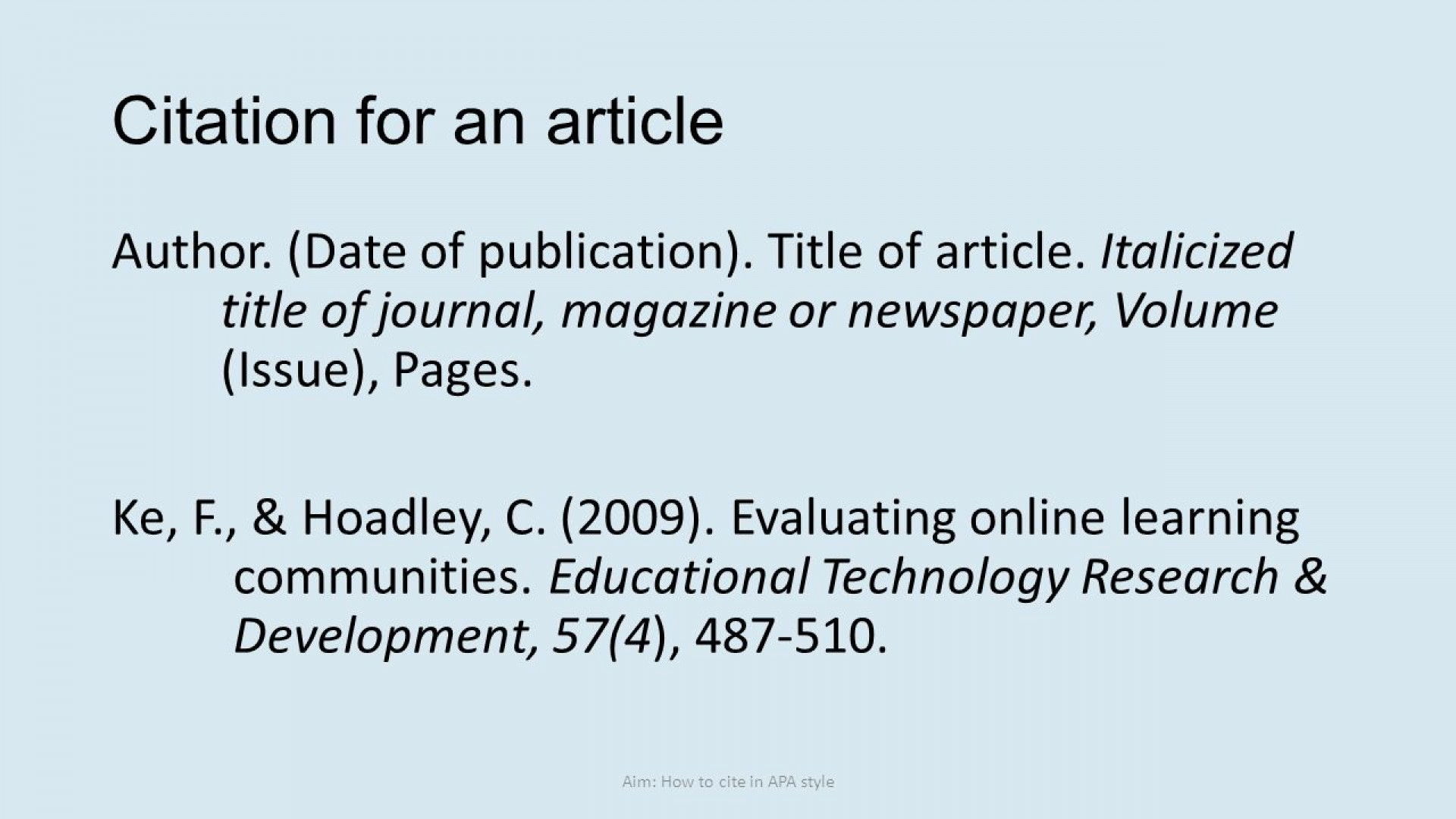 016 Research Paper Apa Citation Online Article Dreaded 1920