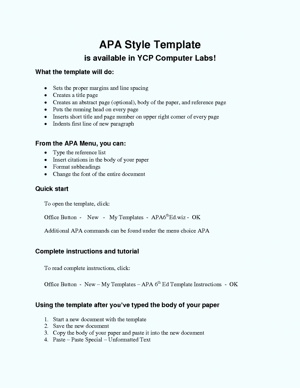 016 Research Paper Apa Format Template Best Of Essay Word 6th Edition Shocking Style Outline Full