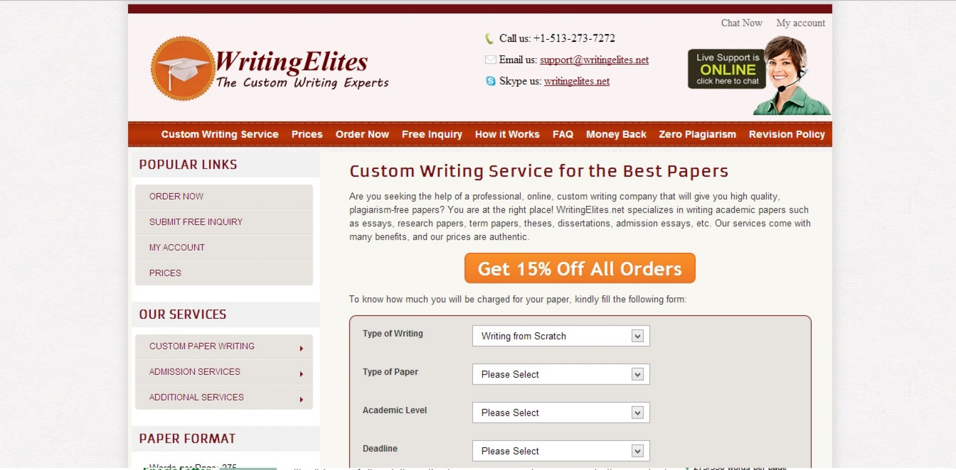 016 Research Paper Best Writing Services In Usa Writingelites Net Top 1920