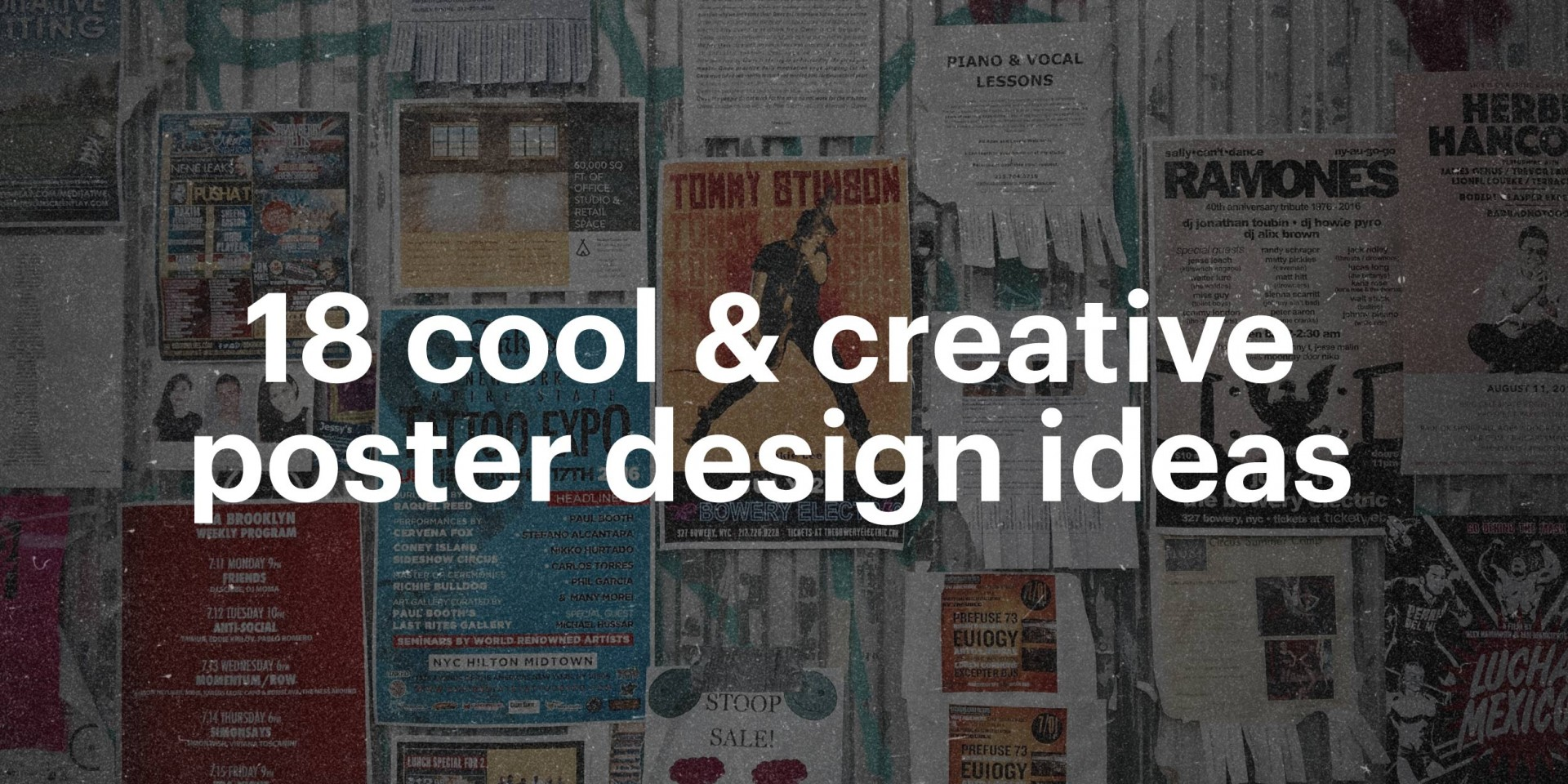 016 Research Paper Cool Creative Poster Design Ideas Best Topics For In Unbelievable Marketing 1920