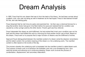 016 Research Paper Dreamanalysis Psychology Topics On Rare Dreams Papers 320