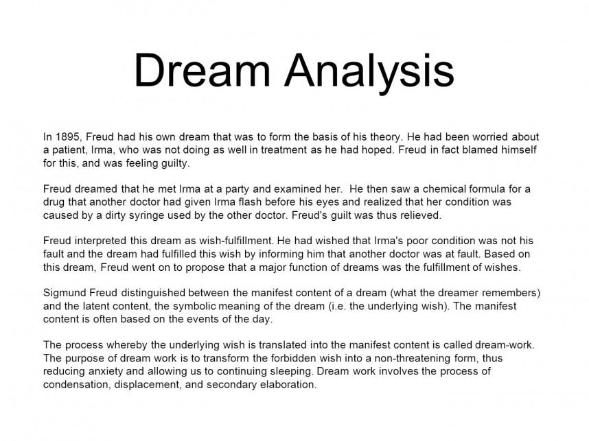 016 Research Paper Dreamanalysis Psychology Topics On Rare Dreams Papers 868
