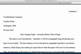 016 Research Paper Example Of An Introduction For Mla Top A