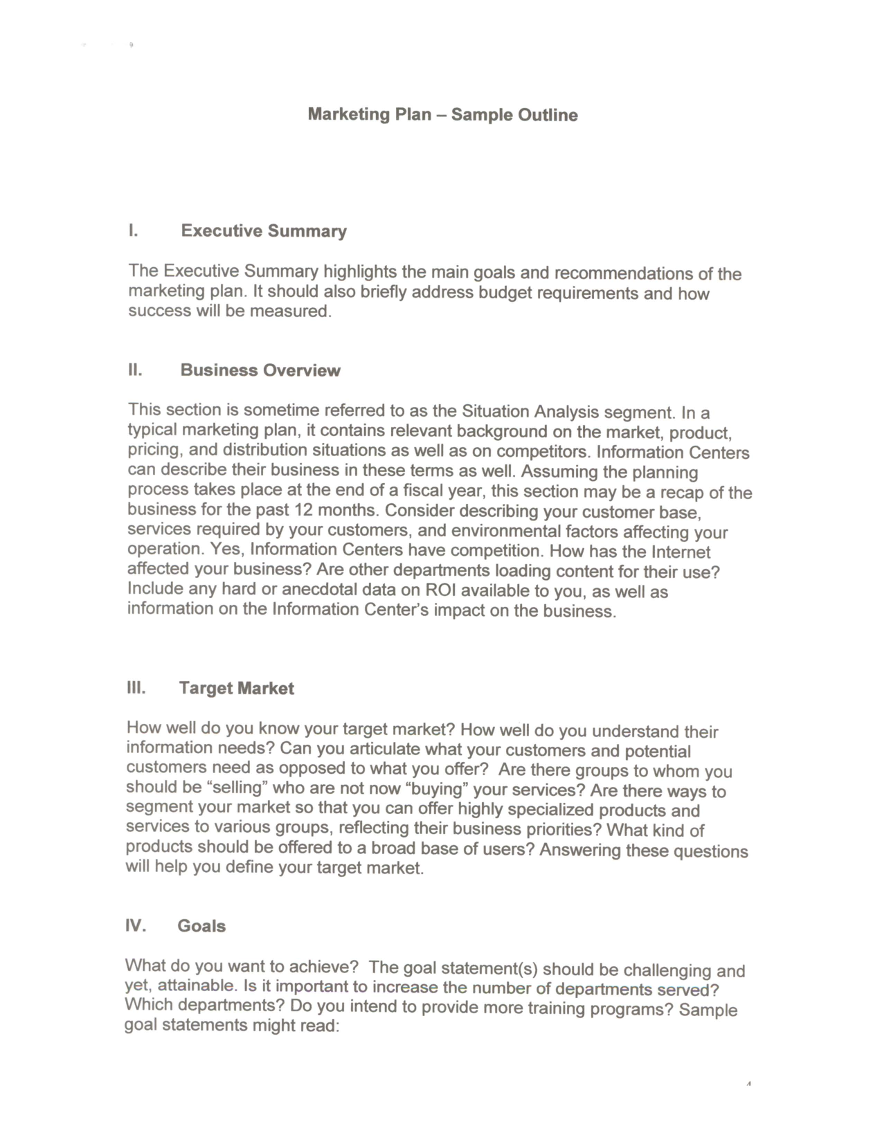 016 Research Paper Executive Summary Marketing Plan Example 384040 Amazing Apa Full