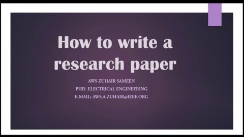016 Research Paper How To Write Conclusion For Fearsome A Example Apa 480